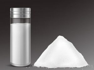 Salz gegen Unkraut